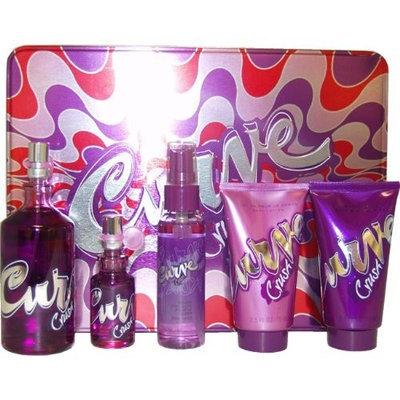 Curve Crush by Liz Claiborne for Women, 5 Piece Gift Set