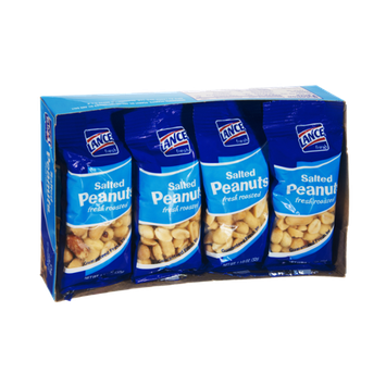 Lance Fresh Salted Roasted Peanuts - 8 PK