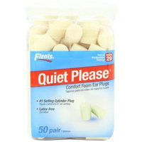 Flents by Apothecary Products Flents Quiet Please Foam Ear Plugs 50-Pair