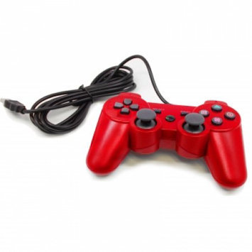 Supersonic Gaming controller for PlayStation 3-RED
