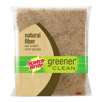 3M Scotch-Brite Natural Fiber Non-Scratch Scrub Sponge