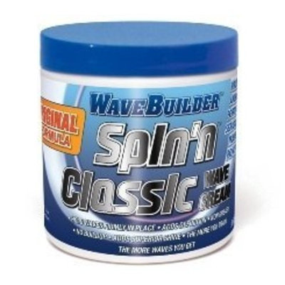 Wave Builder Spinand Classic Original Formula Wave Cream, 8 Ounce