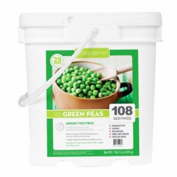 Lindon Farms Freeze Dried Peas, 108 Servings, 1 ea