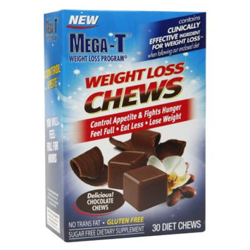 Mega-T Weight Loss Chews Chocolate