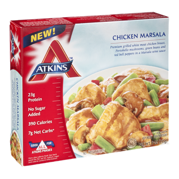 Atkins Chicken Marsala