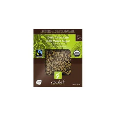 Rochef USA80DMA 80g Dark 72 Percent Chocolate And Maple Sugar Case - 6
