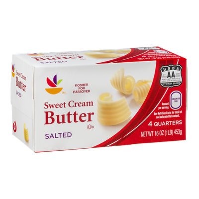 Ahold Sweet Cream Butter Salted - 4 CT