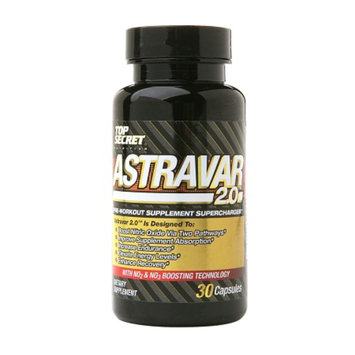 Top Secret Astravar 2.0 Pre-Workout Supercharger, Capsules