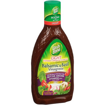 Wish-Bone® Light Balsamic & Basil Vinaigrette Dressing