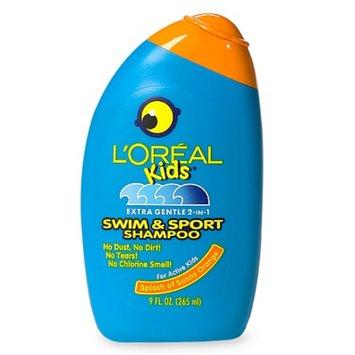 L'Oréal Kids Extra Gentle 2-in-1 Swim & Sport Shampoo Splash of Sunny Orange