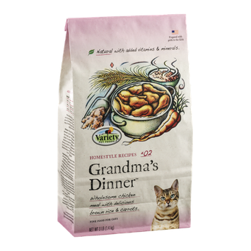 Variety Fine Cat Food Homestyle Recipes #02 Grandma's Dinner