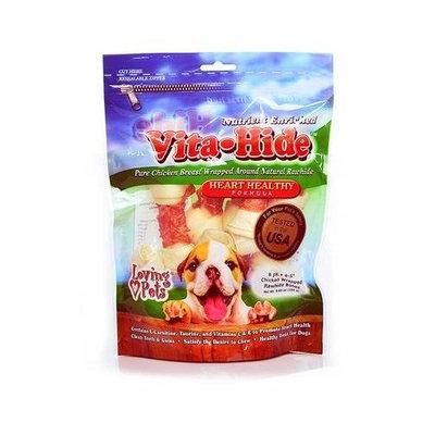 Loving Pets LV RH VITA HEART CHX 4-5 8PK