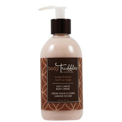Upper Canada Soap   Candle Upper Canada Soap & Candle Body Truffles Silky Caress Body Cream, Fudge Brownie, 8-Ounce Bottles (Pack of 2)