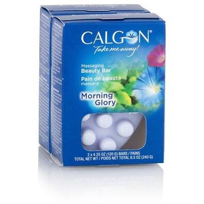 Calgon Massaging Beauty Bar - Morning Glory: 2 Bars
