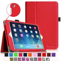 Fintie Folio Slim-Fit Case Cover for Apple iPad Mini 2 with Retina Display (2013) & Mini (2012), Red