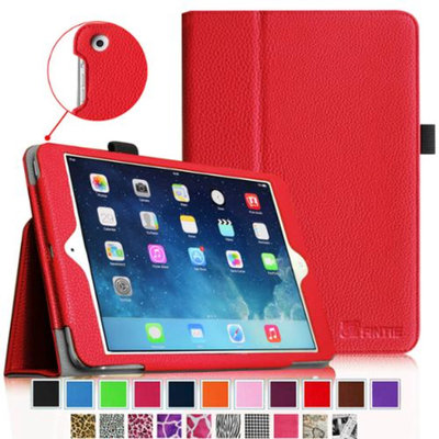 Fintie Folio Slim-Fit Case Cover for Apple iPad Mini 2 with Retina Display (2013) & Mini (2012), Red