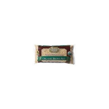 Gourmet House - 100% Organic Long Grain Brown Rice - 14oz bag