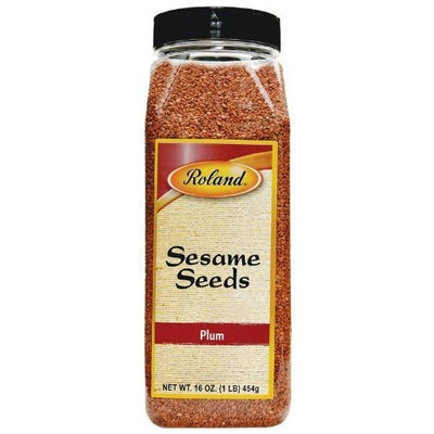 Roland Sesame Seeds, Plum, 16-Ounce Packages (Pack of 2)
