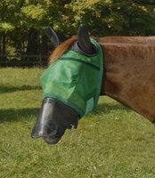 Centaur Got Flies? Super Duty Fly Mask (Silver and Beige)