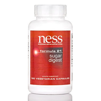 Ness Enzyme's Sugar Digest #21 180 vcaps by Ness Enzymes