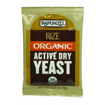 Rapunzel Yeast, Active Dry, 0.32-Ounce (Pack of 4)