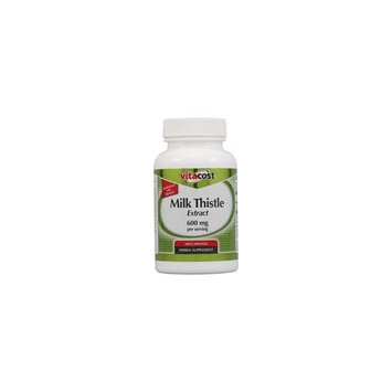 Vitacost Brand Vitacost Milk Thistle Extract - Standardized -- 600 mg per serving - 100 Capsules