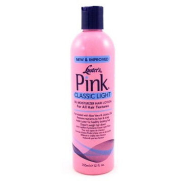 Luster's Pink Oil Moisturizer Hair Lotion, 12 Ounce