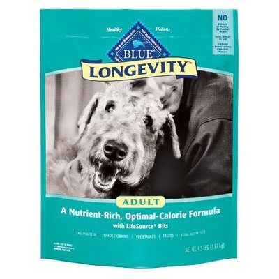 Blue Buffalo Longevity Dry Food for Adult Dogs, 24-Pound Bag