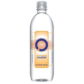 O Water O Ultra Premium Water, Mandarin Orange, 20-Ounce Bottles (Pack of 12)