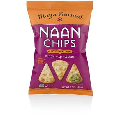Maya Kaimal NAAN CHIPS, ALMST EVRYTHNG, (Pack of 12)