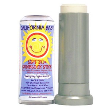 California Baby Everyday/Year Round Sunblock Stick SPF 30+