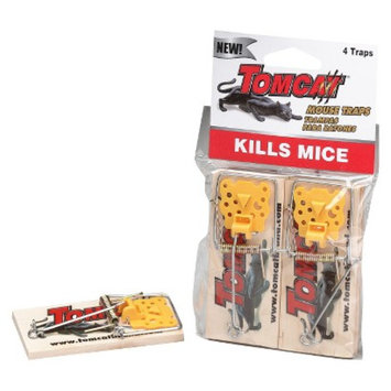 TomCat Wood Mouse Traps 4 ct