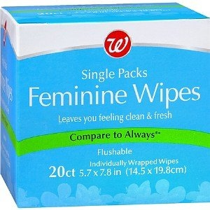 Walgreens Feminine Wipes Single Packs