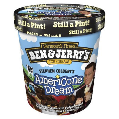 Ben & Jerry's All Natural Stephen Colbert's Americone Dream Ice Cream
