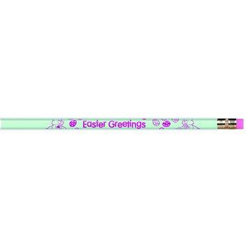 Moon Products ERESJRM7920B - Pencils Easter Greetings 12/pk