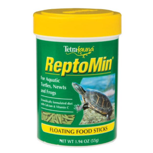 Tetrafauna Reptomin Aquatic Turtle, Newt and Frog Floating Food Sticks
