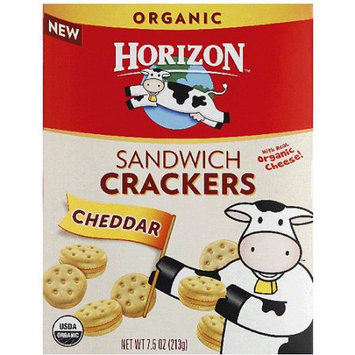Horizon Cheddar Sandwich Crackers, 7.5 oz, (Pack of 12)