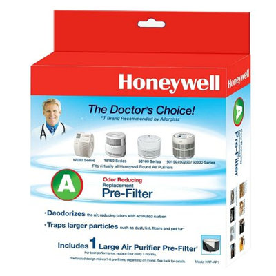 Honeywell A - Odor Reducing Replacement Pre-Filter