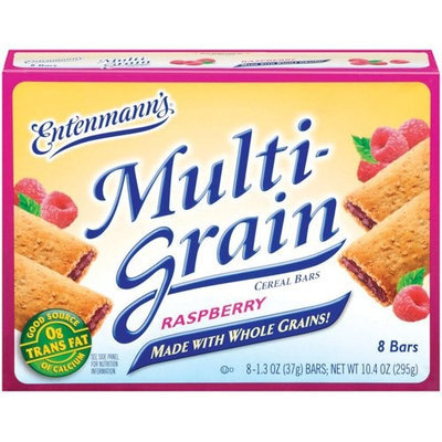 Entenmann's Cereal Bars Entenmann's Multi-Grain Raspberry Cereal Bars