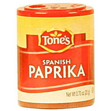 Tone's Mini's Paprika, Spanish, 0.70-Ounce