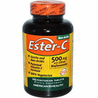 American Health Ester-C with Citrus Bioflavonoids 500 mg 225 Vegetarian Tablets