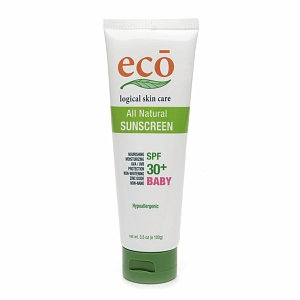 ECO logical skin care Baby All Natural Sunscreen SPF 30+