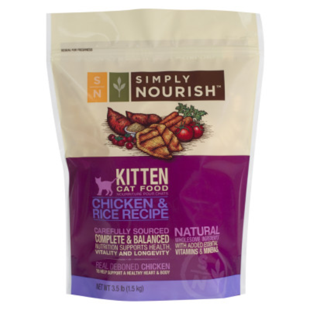Simply NourishTM Kitten Food