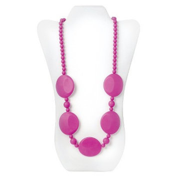 Nixi by Bumkins Pietra Silicone Teething Necklace - Pink