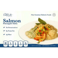 EasyLife Diabetic Meals Salmon with Pineapple Salsa