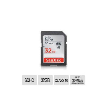 SanDisk 32GB Ultra SDHC UHS-I Card