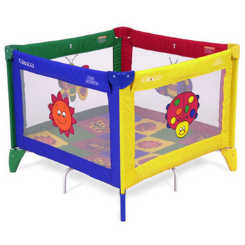 Graco Pack 'n Play Totblock Playard - Bugs Quilt
