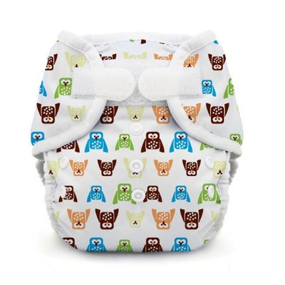 Thirsties Duo Wrap, Hoot, Size One (6-18 lbs) (Discontinued by Manufacturer)