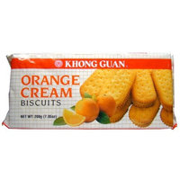 Khong Guan Orange Cream, 7-Ounce (Pack of 8)