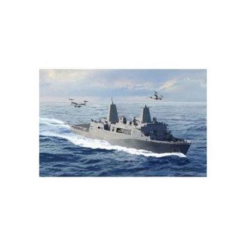 Cyber Hobby Models U.S.S. SAN ANTONIO LPD-17 W/MV-22B Kit (1/700 Scale)